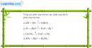 Bài 25.2 Trang 35 SBT hóa học 8