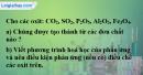 Bài 25.4 Trang 35 SBT hóa học 8