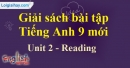 Reading - Unit 2 - SBT tiếng anh lớp 9 mới