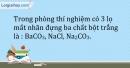 Bài 32.6 Trang 41 SBT Hóa học 9