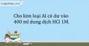 Bài 32.9 Trang 41 SBT Hóa học 9