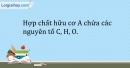 Bài 34.6 Trang 44 SBT Hóa học 9