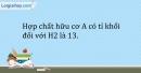 Bài 34.7 Trang 44 SBT Hóa học 9