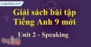 Speaking - trang 15 - Unit 2 - SBT tiếng anh lớp 9 mới