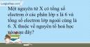 Bài 5.6; 5.7  trang 12 SBT Hóa học 10