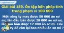 Bài 159 : Ôn tập bốn phép tính trong phạm vi 100 000
