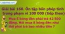 Bài 160 : Ôn tập bốn phép tính trong phạm vi 100 000 (tiếp theo)