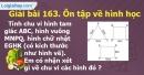 Bài 163 : Ôn tập về hình học