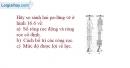 Bài 16.17 trang 56 SBT Vật lí 6