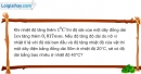 Bài 18.11 trang 58 SBT Vật lí 6