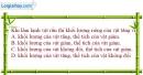 Bài 18.5 trang 58 SBT Vật lí 6
