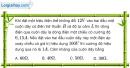 Bài III.1, III.2, III.3 trang 48 SBT Vật Lí 12