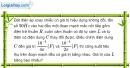 Bài III.16 trang 51 SBT Vật Lí 12