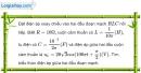 Bài III.18 trang 52 SBT Vật Lí 12