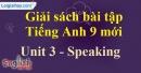 Speaking - trang 23 - Unit 3 - SBT tiếng anh 9 mới