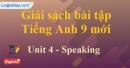 Speaking - trang 34 - Unit 4 - SBT tiếng Anh 9 mới