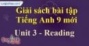 Reading - trang 23 - Unit 3 - SBT tiếng anh lớp 9 mới
