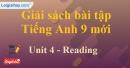 Reading - trang 35 - Unit 4 - SBT tiếng Anh 9 mới