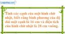 Bài 16 trang 157 SBT toán 8 tập 1
