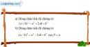 Bài 2.2 phần bài tập bổ sung trang 159 SBT toán 8 tập 1
