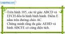 Bài 23 trang 158 SBT toán 8 tập 1