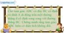 Bài 26 trang 159 SBT toán 8 tập 1