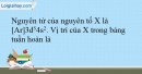 Bài 11.6; 11.7; 11.8 trang 27 SBT Hóa học 10