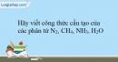 Bài 16.15 trang 39 SBT Hóa học 10