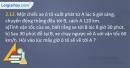 Bài 2.12 trang 9 SBT Vật lí 10