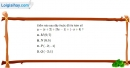 Bài 2.17 trang 36 SBT đại số 10