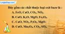 Bài 26.2 Trang 35 SBT hóa học 8