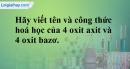 Bài 26.4 Trang 36 SBT hóa học 8
