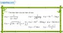 Bài 2.66 trang 133 SBT giải tích 12