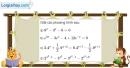 Bài 2.67 trang 133 SBT giải tích 12
