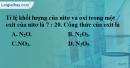 Bài 26.9 Trang 36 SBT hóa học 8