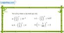 Bài 2.73 trang 134 SBT giải tích 12