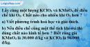 Bài 27.6* Trang 38 SBT hóa học 8
