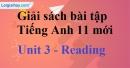 Reading - trang 21 Unit 3 SBT Tiếng anh 11 mới