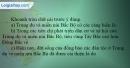 Câu 1 trang 42 SBT địa 9