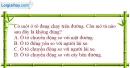 Bài 1.1 trang 3 SBT Vật lí 8