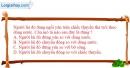 Bài 1.2 trang 3 SBT Vật lí 8