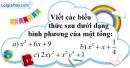 Bài 13 trang 7 SBT toán 8 tập 1
