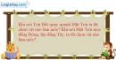 Bài 1.4 trang 3 SBT Vật lí 8