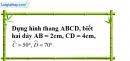 Bài 55 trang 86 SBT toán 8 tập 1