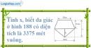 Bài 32 trang 161 SBT toán 8 tập 1