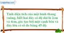 Bài 35 trang 161 SBT toán 8 tập 1