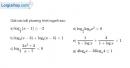 Bài 2.60 trang 132 SBT giải tích 12
