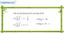 Bài 2.61 trang 132 SBT giải tích 12