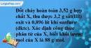 Bài 29.14 Trang 42 SBT hóa học 8