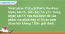 Bài 29.16 Trang 42 SBT hóa học 8